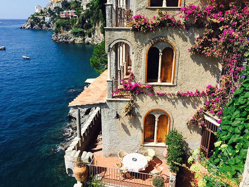 Luigi appartamenti di lusso vista mare villa di lusso for Soggiorno costiera amalfitana