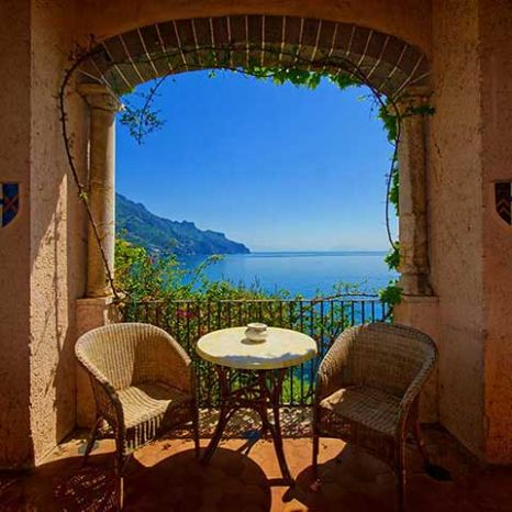 room with garden close to Amalfi