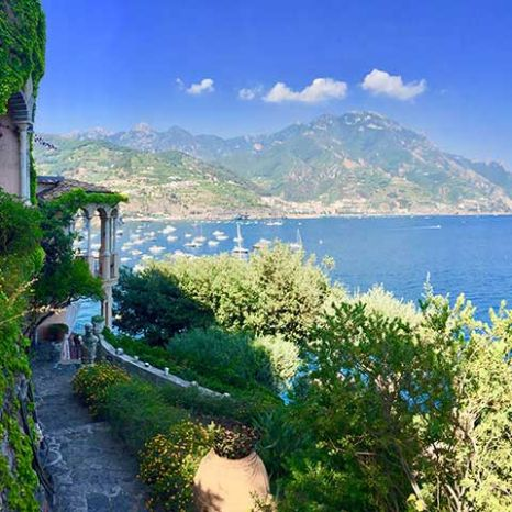 historic villa in Ravello