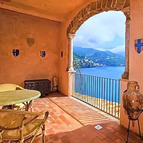 historic villa in the Amalfi Coast