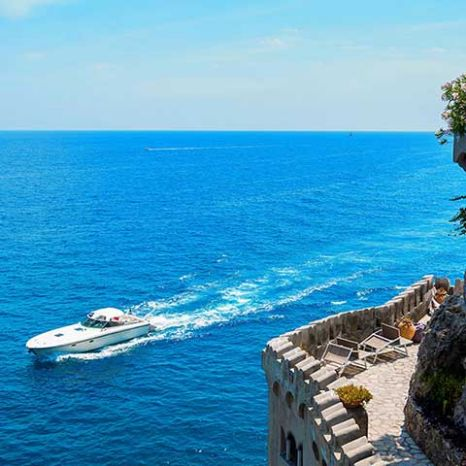 seaview boutique hotel Ravello