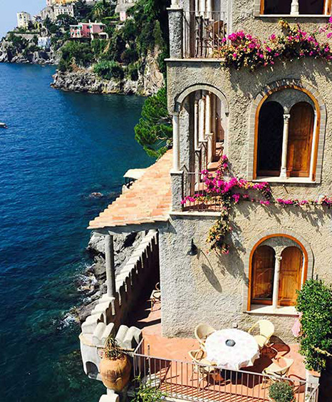 exclusive residence close to Amalfi