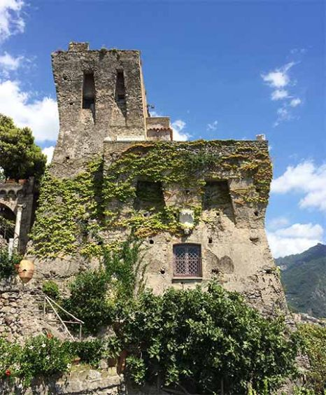 historic seaside villa Ravello
