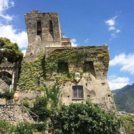 villa with historic watchtower Ravello