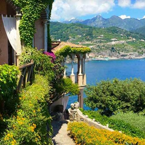 resort with gardens Ravello