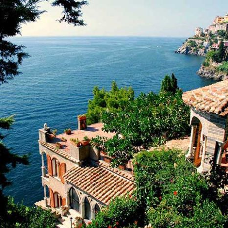 villa with seaview rooms Ravello