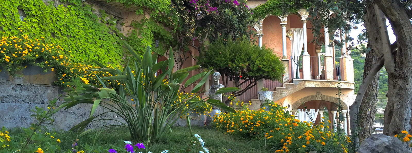 Accommodations with private garden Ravello